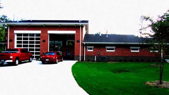 Fire Station No. 5 Laurel, MS Architecture